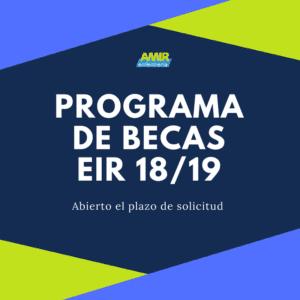 Becas EIR 2019