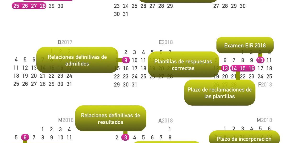Calendario 20017.Calendario Fechas Importantes Posteir Academia Amir Enfermeria